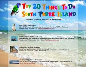Things To Do South Padre Island - South Padre Island, TX